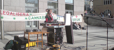 Demonstration marijuana