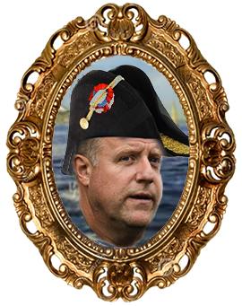 Polismästare Stefan Sintéus som han kanske ser sig själv