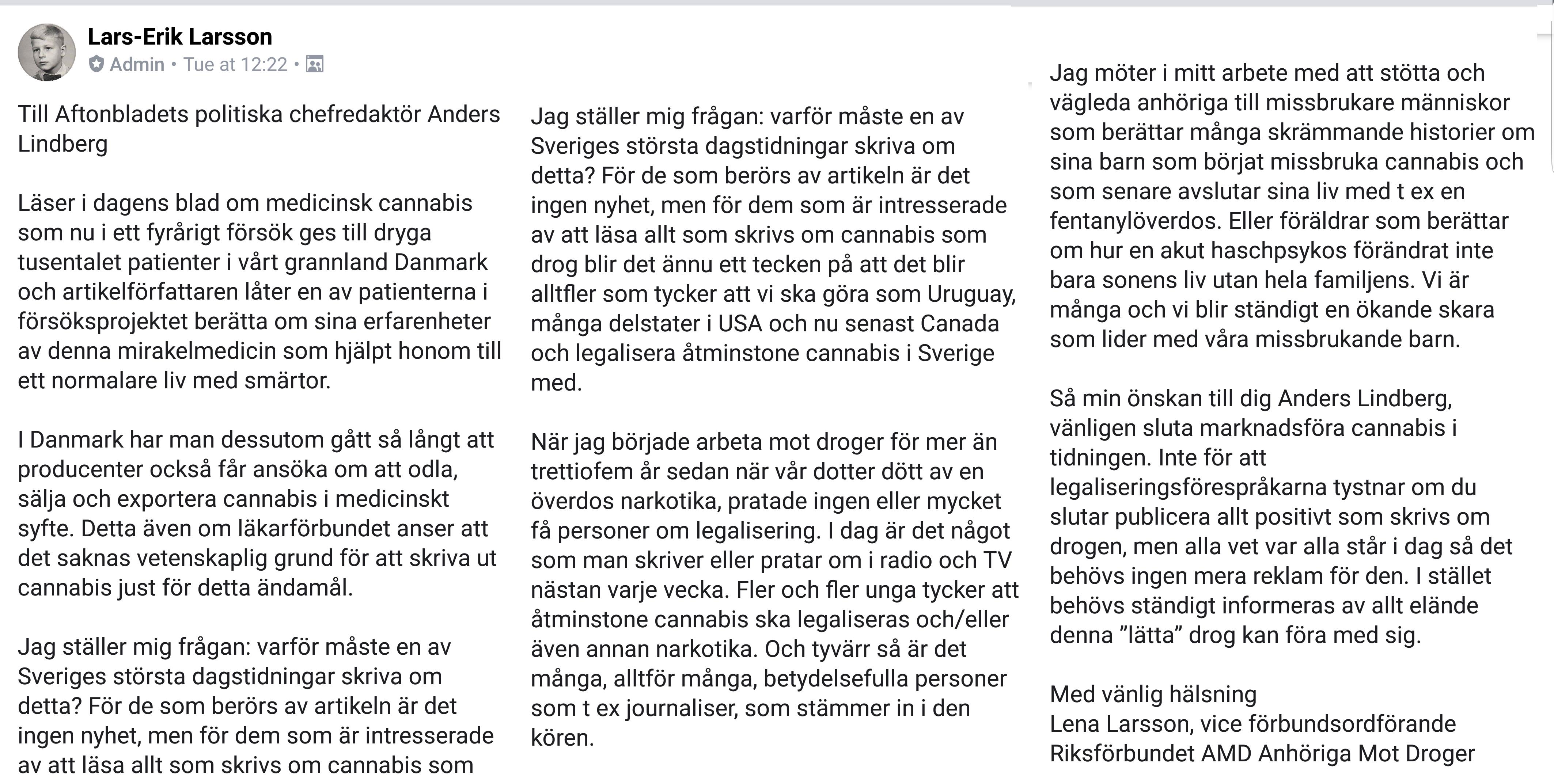 3209ff0f7960 Cannabis.se, författare på Cannabis.se